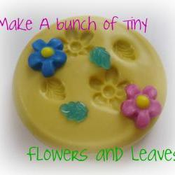 Silicone Mold Flower Leaf Flexible Moulds